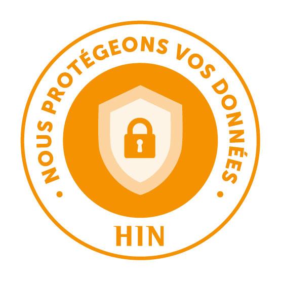 HIN Label deutsch