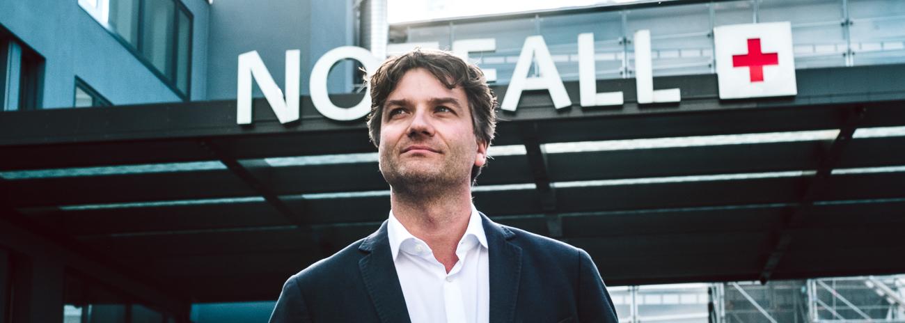 Thomas Sauter, Stiftungsprofessor für Telenotfallmedizin © Pascal Triponez